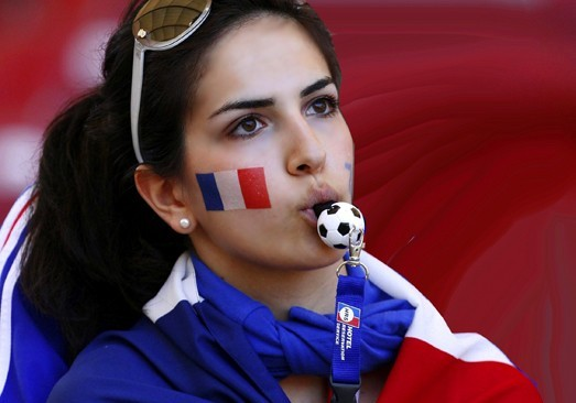 coupe du monde 2014 : supportrice la plus ..... Suppor10