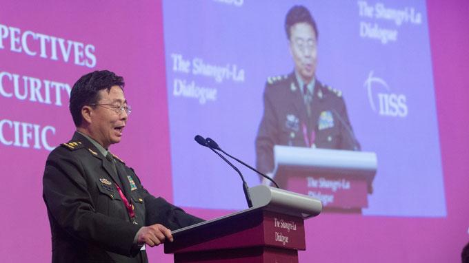 """Bế mạc Shangri-La 13: Nhiều nước yêu cầu TQ giải thích """"đường 9 đoạn"""" 71076210"""
