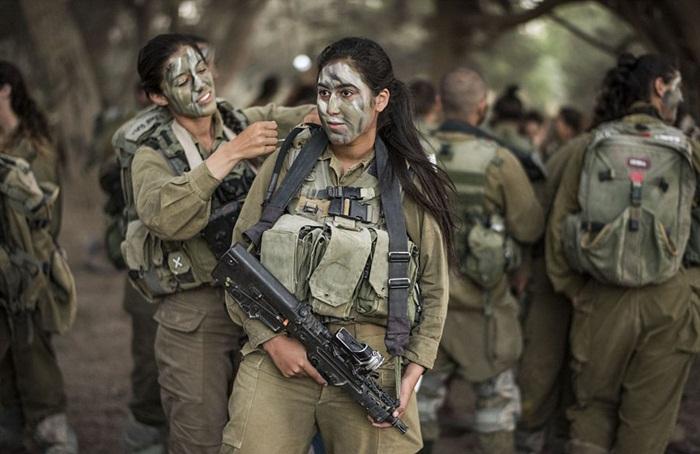 Ngắm biệt đội nữ binh sĩ Israel xinh đẹp Binh1-10