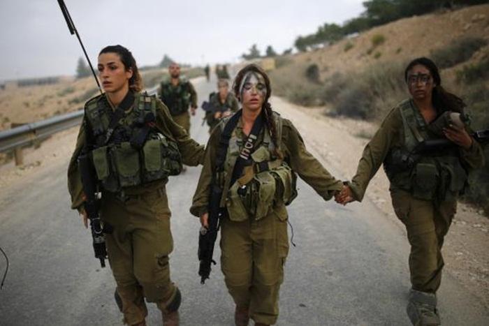 Ngắm biệt đội nữ binh sĩ Israel xinh đẹp Binh1110
