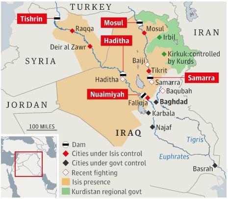 """IS: """"Nhà nước Hồi giáo"""" tự xưng Dam10"""