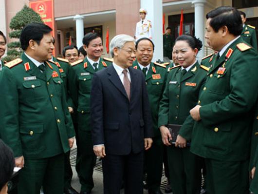 Sự lãnh đạo của Đảng là nhân tố quyết định mọi thắng lợi và sự trưởng thành, phát triển của Quân đội nhân dân Việt Nam Image033