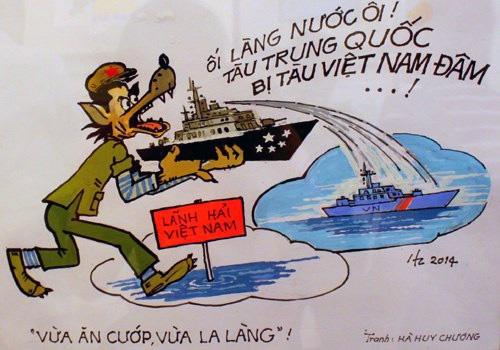 Nhận dạng một số chiến lược, chiến thuật của Trung Quốc hòng độc chiếm biển Đông Redsvn10