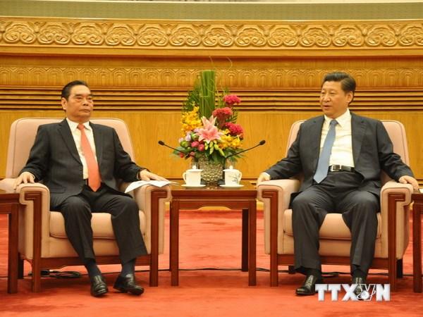 Ông Lê Hồng Anh hội kiến Chủ tịch Trung Quốc Tập Cận Bình Ttxvn_18