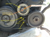 Recherche système tension courroie pompe DA S2 TD 1995 Getatt10