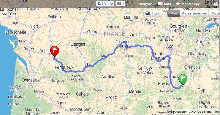URGENT : Cherche Drôme (26)-Poitou Charentes(16-Angoulème) pour Tyson et Nickie fin octobre! Covoit10