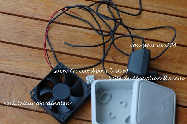 ventilation des mini-serres Mat-ri10