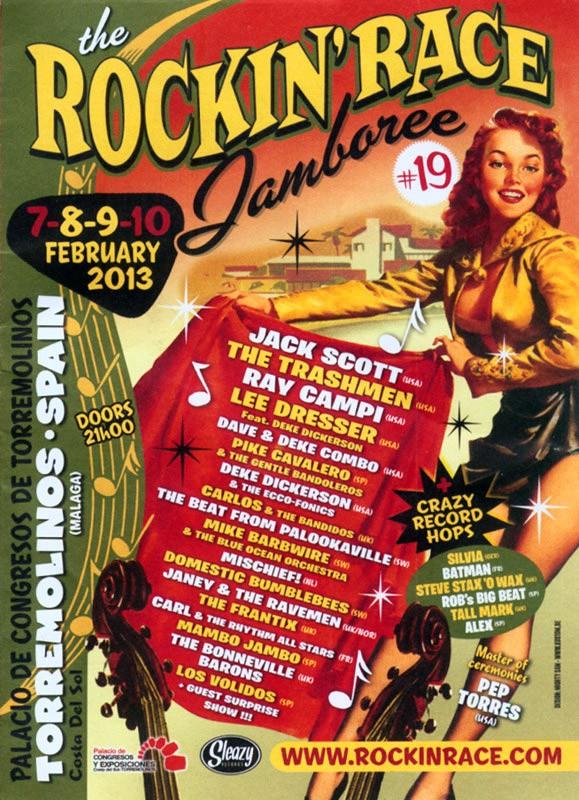 Torremolinos Rockin' Race Jamboree Ray-ja10