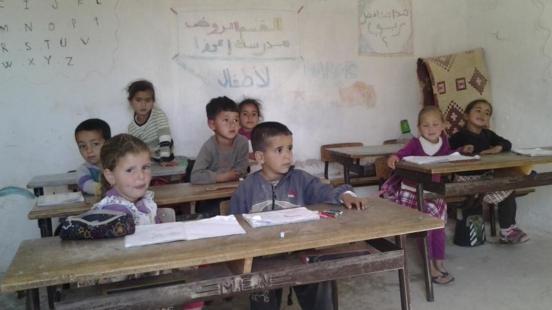 Nov 2014 iCH sa première école dans le désert PHOTOS... 20140356