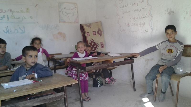 Nov 2014 iCH sa première école dans le désert PHOTOS... 20140357