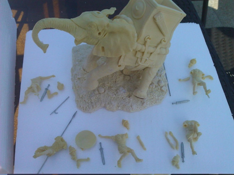 Elephant de Guerre carthaginois. Wp_00211