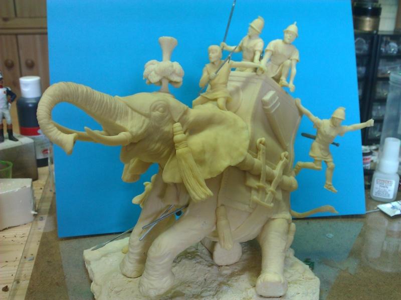 Elephant de Guerre carthaginois. Wp_00212
