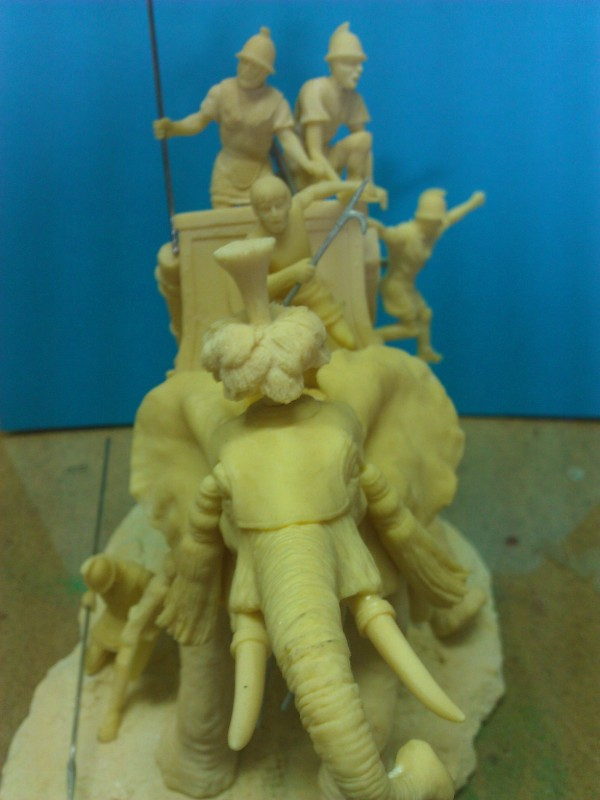 Elephant de Guerre carthaginois. Wp_00219