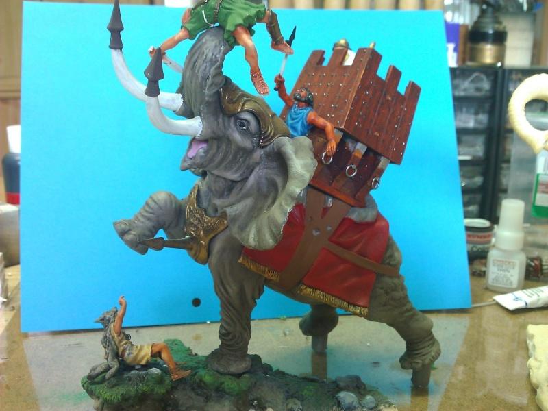 Elephant de Guerre carthaginois. Wp_00220