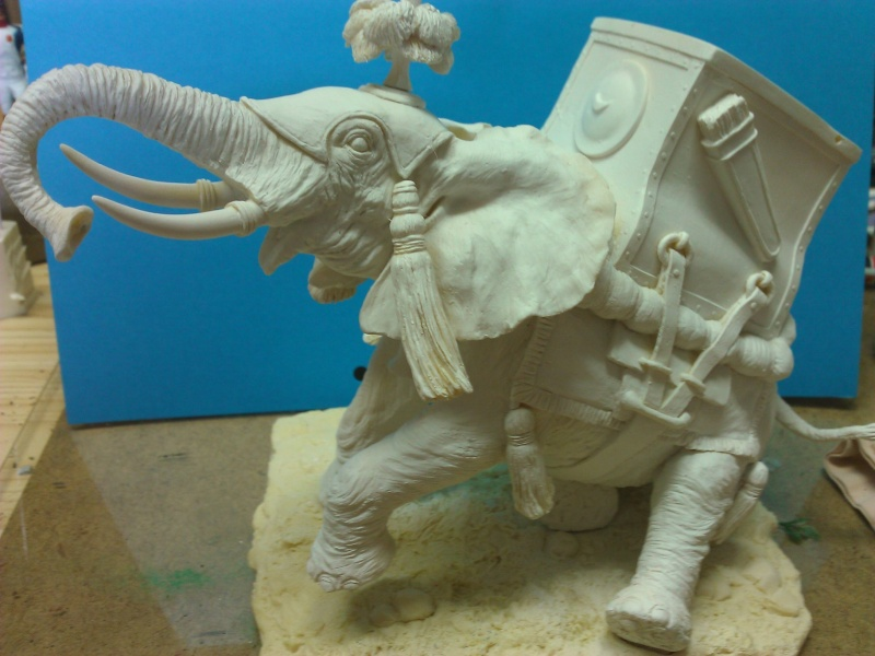 Elephant de Guerre carthaginois. Wp_00227
