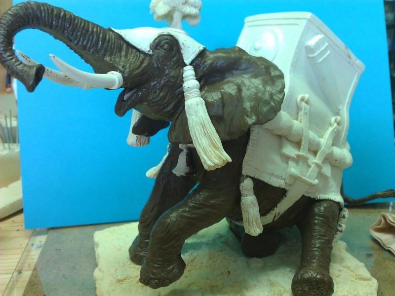 Elephant de Guerre carthaginois. Wp_00238