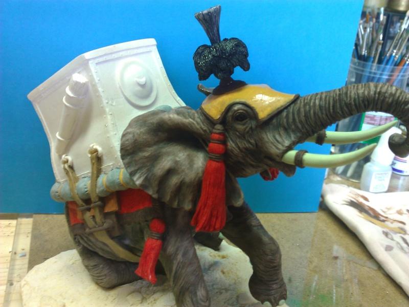 Elephant de Guerre carthaginois. Wp_00248