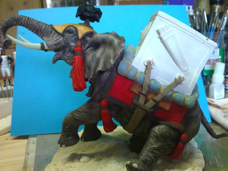 Elephant de Guerre carthaginois. Wp_00250