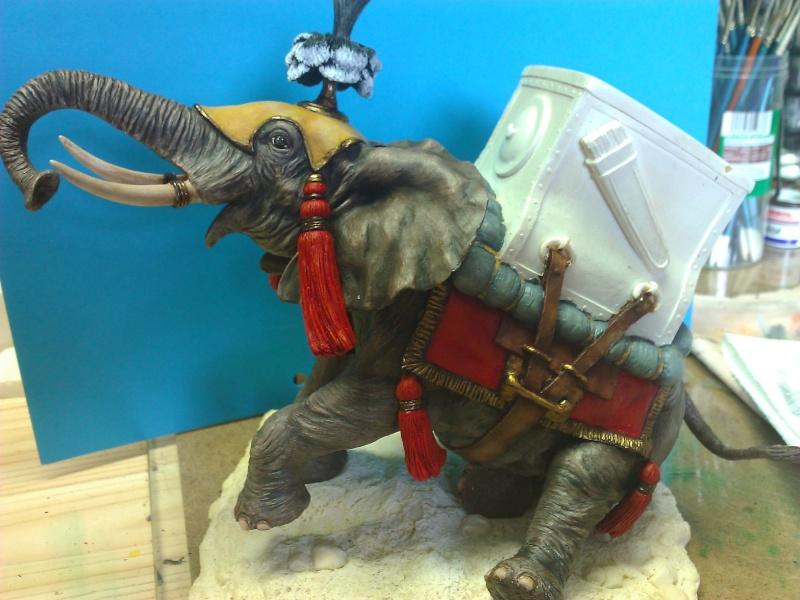 Elephant de Guerre carthaginois. Wp_00323