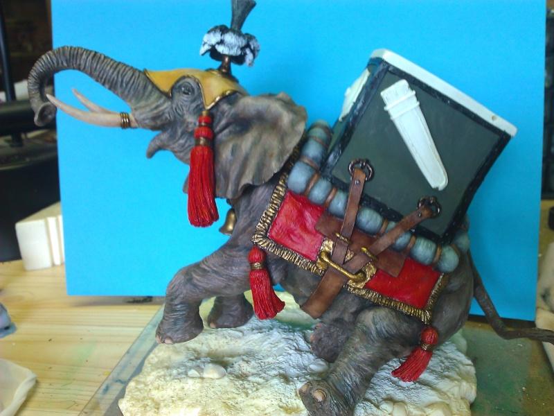 Elephant de Guerre carthaginois. Wp_00340