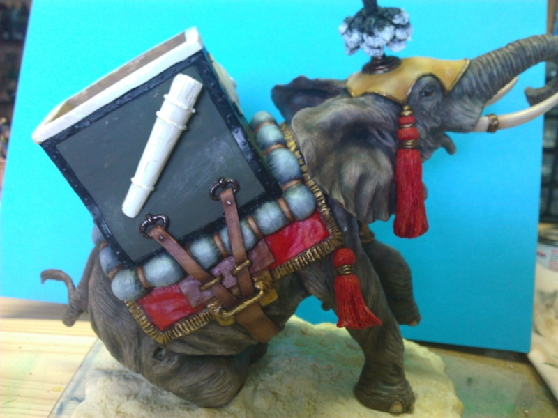 Elephant de Guerre carthaginois. Wp_00341