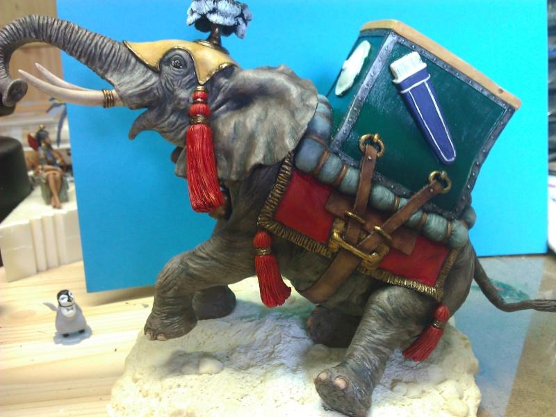 Elephant de Guerre carthaginois. Wp_00343