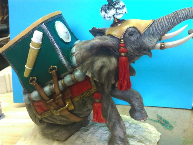 Elephant de Guerre carthaginois. Wp_00346