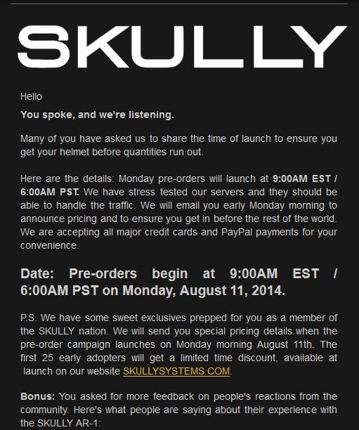 nouveau casque bientôt sur le marché le SKULLY P1 avec rétrovision - Page 2 00159
