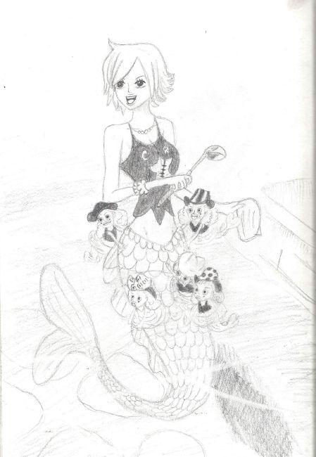 Galerie de dessins d'Erza Scarlet  Dessin22