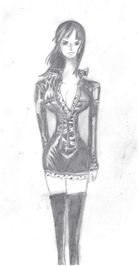 Galerie de dessins d'Erza Scarlet  Dessin37
