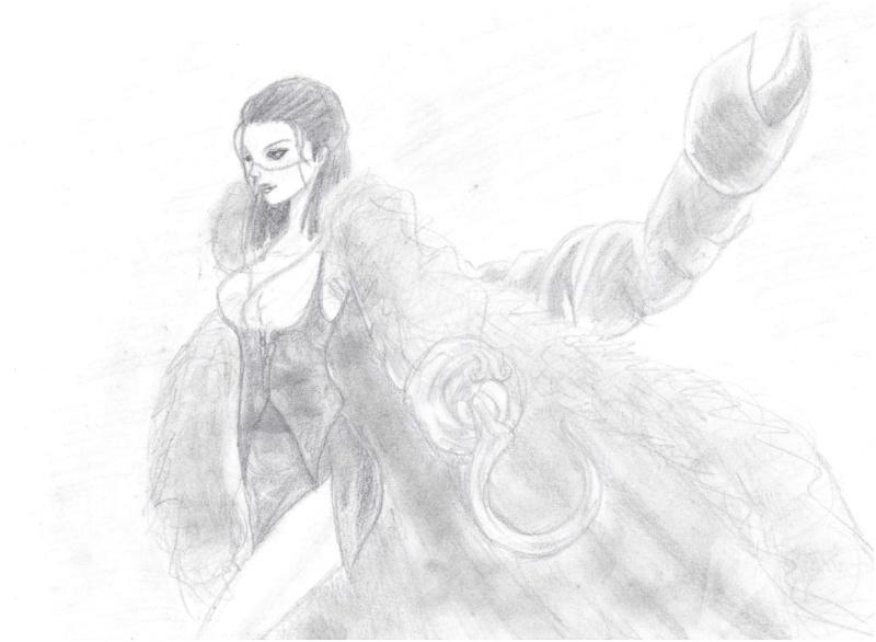 Galerie de dessins d'Erza Scarlet  Dessin38