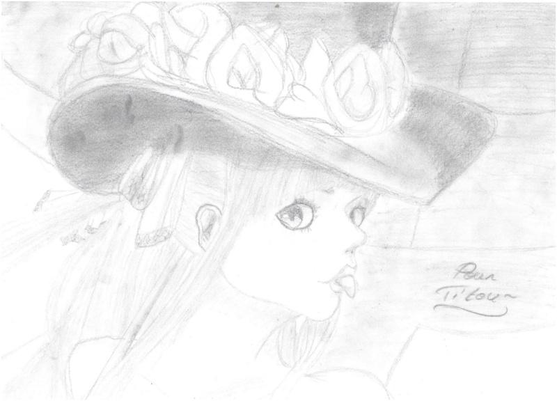 Galerie de dessins d'Erza Scarlet  Dessin39