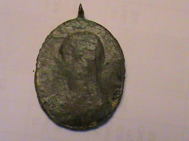 "Médaille type ""Salvator Mundi"" - XVIIIème Dsc00254"