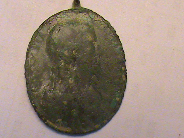 "Médaille type ""Salvator Mundi"" - XVIIIème Dsc00255"