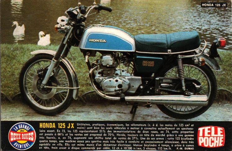 CB 250... différente! - Page 2 Honda110