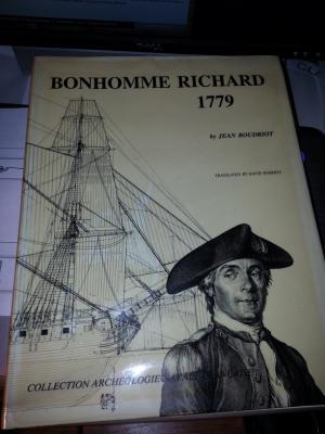 Le Bonhomme Richard-Monographie de jean Boudriot au 1/72 ° 110
