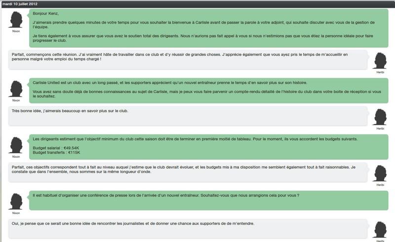 FM13 - Carliste United Discu10