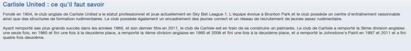 FM13 - Carliste United Infos10