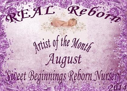 August Artist of the month winner logo 37810610