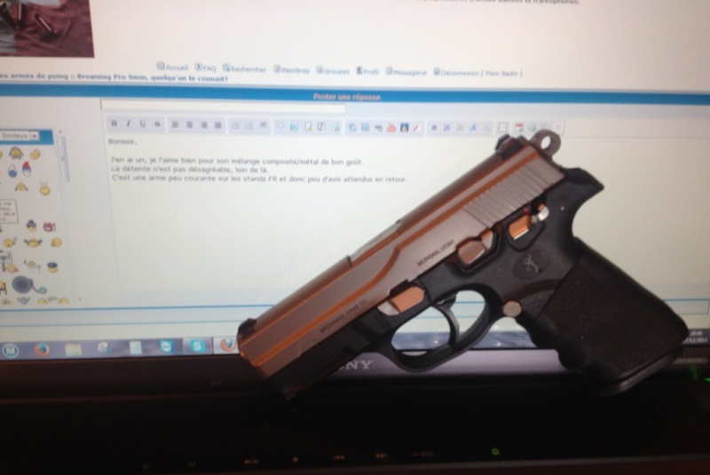 Browning Pro 9mm, quelqu'un le connait? Pro910
