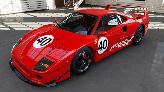 Ferrari Racing Days F40_gt10