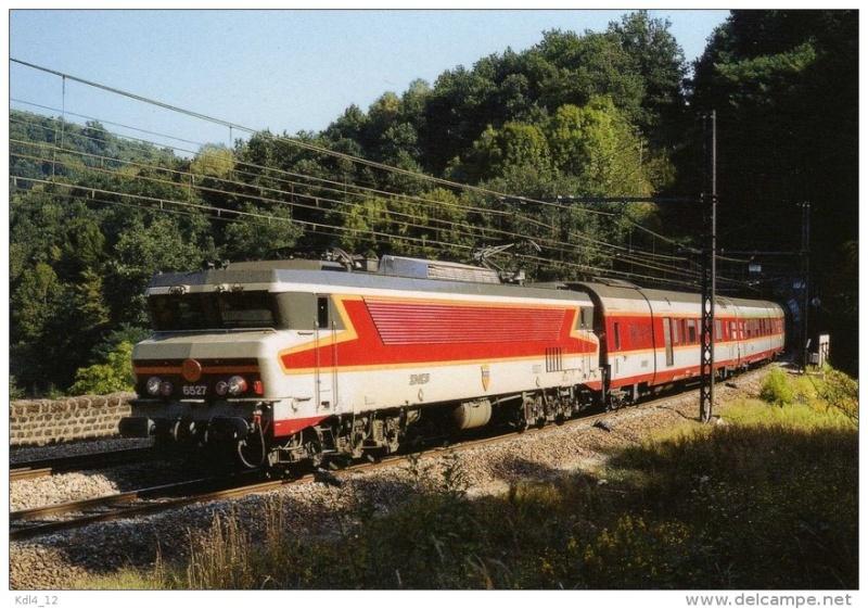 Trains rapides et TEE Capito10