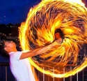 Fire Spinning in Seattle // Flow Arts Topic 1112