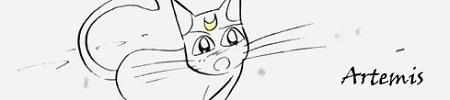 (Advanced) Sailor Luna and Tuxedo Cat  Sm3-0010
