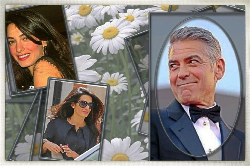 Photos: George Clooney with Amal Alamuddin Img_1610