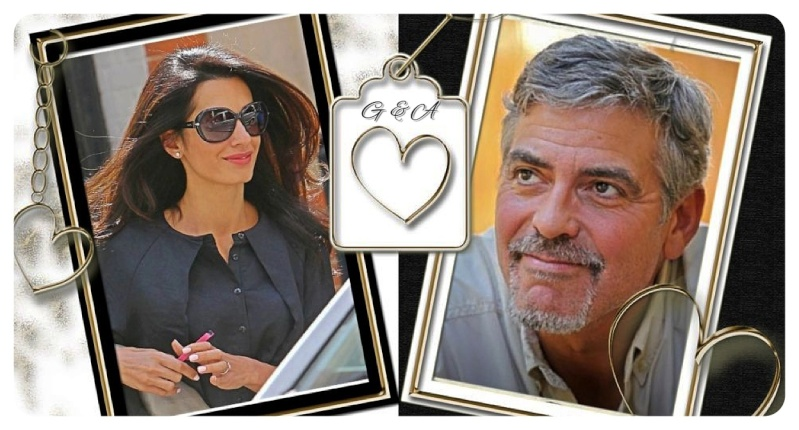 Photos: George Clooney with Amal Alamuddin Img_1611
