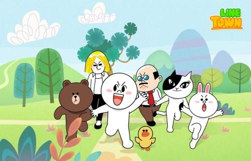 """[160412] LINE a choisi B1A4 pour chanter la chanson thème de leur dessin animé """"LINE TOWN"""" Tumblr15"""