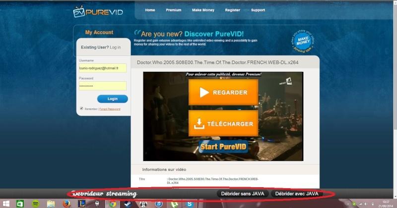 Recherche bon sites de streaming (urgent!) Purevi10