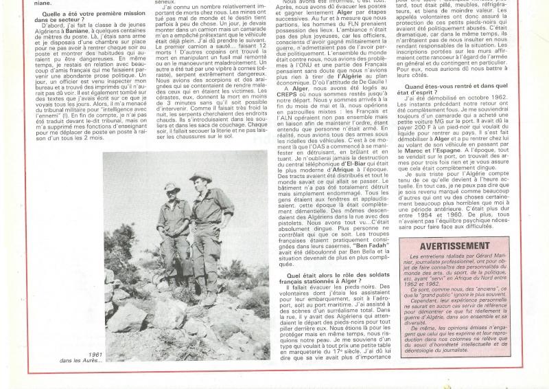 chasseurs en Algérie Bernar11