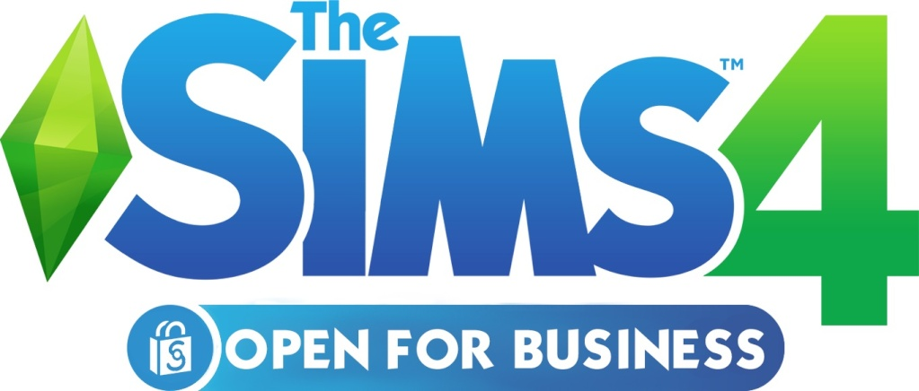 The Sims 4 Open for Business Logo The_si11